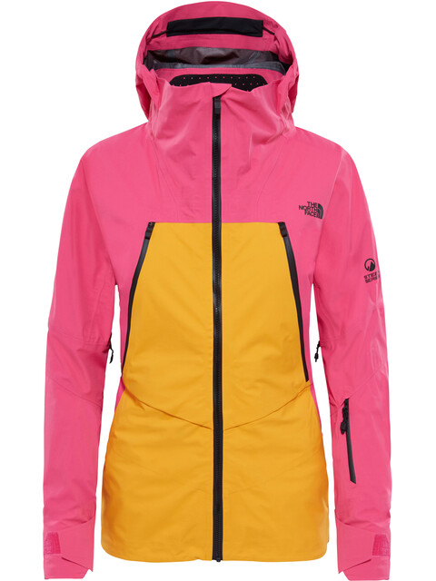 The North Face W's Purist Triclimate Jacket TNF Black/Mr. Pink/Zinnia Orange